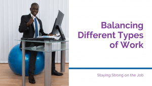 balance balls as office chairs