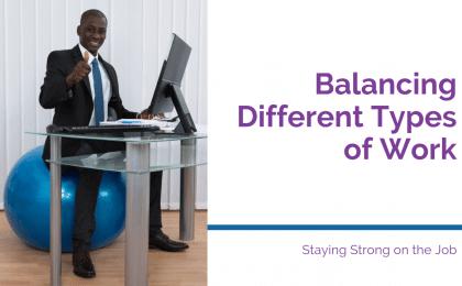 balance balls as office chairs
